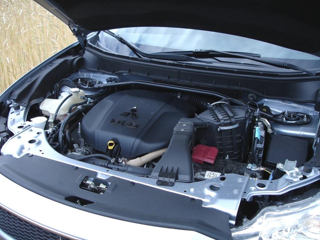 Zuständig für flotten Vortrieb: das 156 PS leistende Dieselaggregat mit französischen Genen.