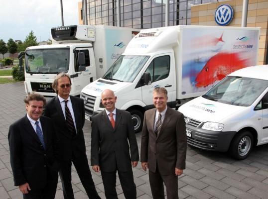 ''Deutsche See'' setzt auf Volkswagen und MAN