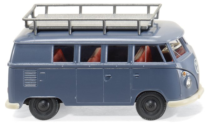VW T 1 als firmeneigener Transporter von Wiking.