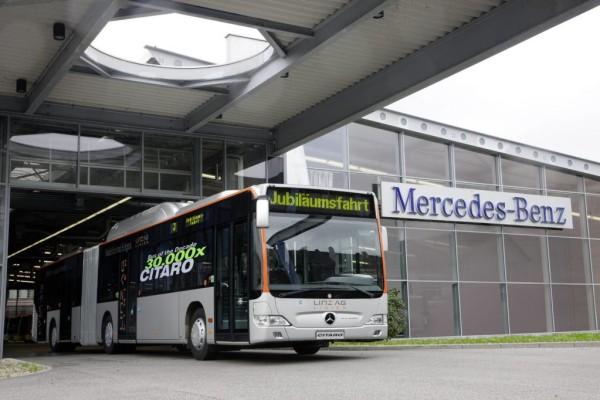 30 000 Stadtbusse aus Mannheimer Daimler-Werk