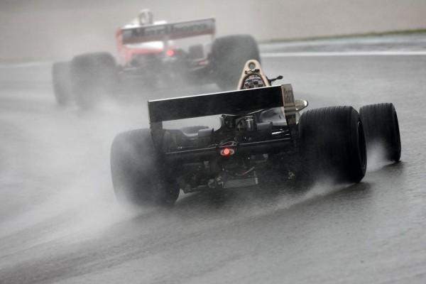 38. AvD-Oldtimer-Grand-Prix: Regen trübte den Abschlusstag