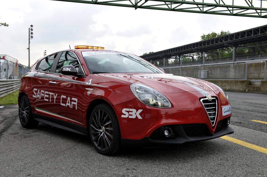 Alfa Romeo Giulietta Quadrifoglio Verde: das neue Safety Car der SBK.