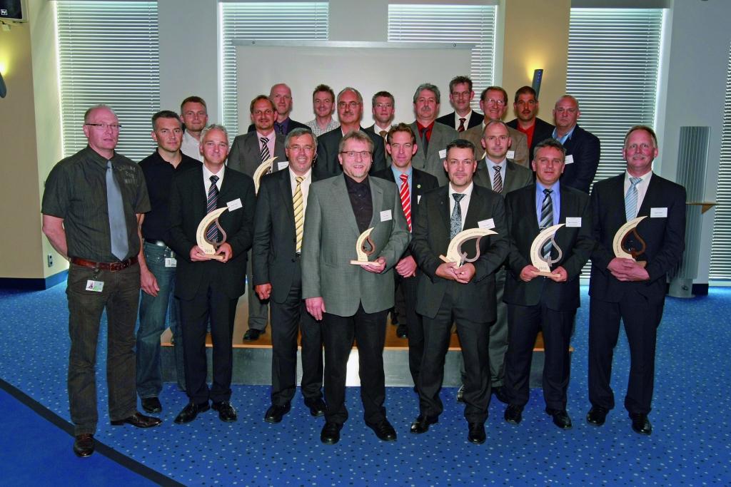 Alle Preisträger des Internen Umweltpreises 2010 auf einen Blick