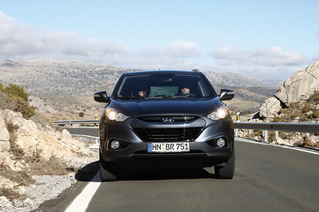 Auch das SUV Hyundai ix35 hat fünf von fünf Sternen bekommen.