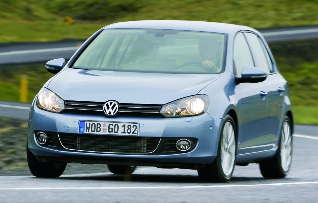Auch der VW Golf wurde mit einem Umweltprädikat ausgezeichnet.