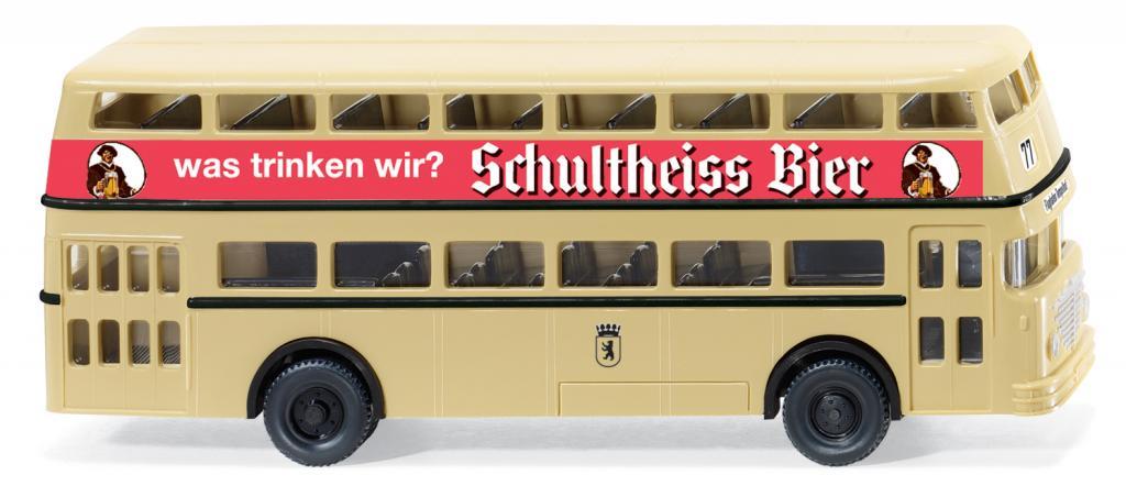 Büssing-Doppeldeckerbus von Wiking.