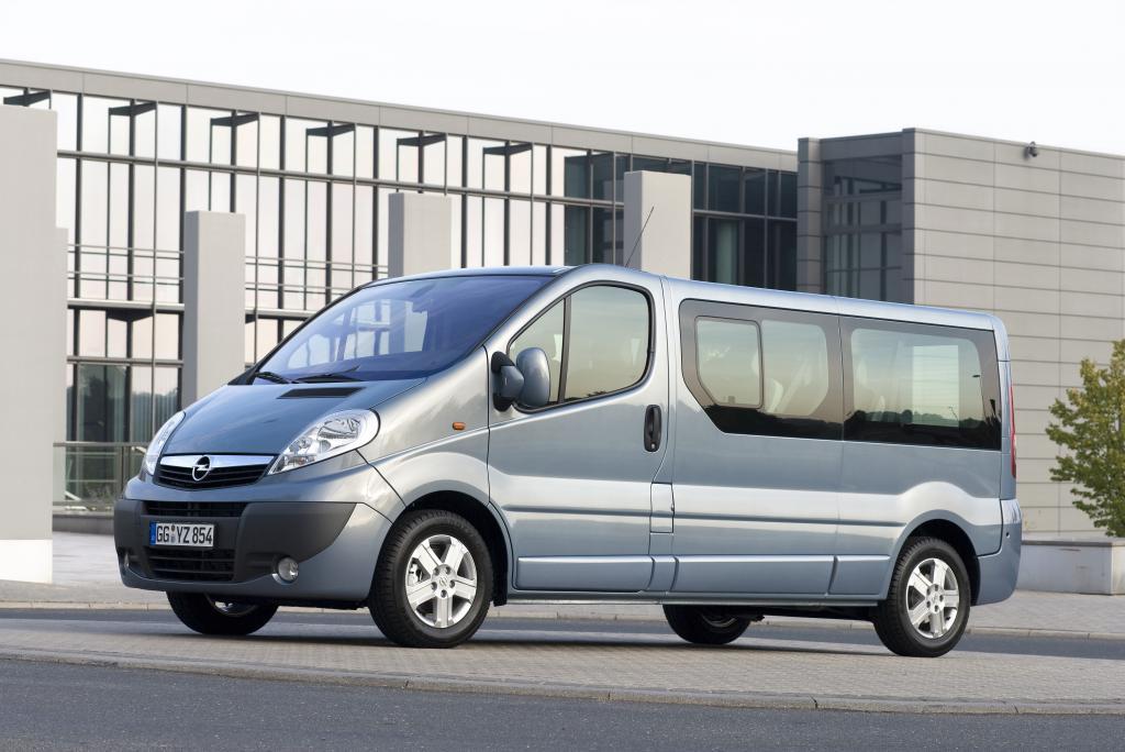 Caravan Salon 2010: Opel zeigt Vivaro Life