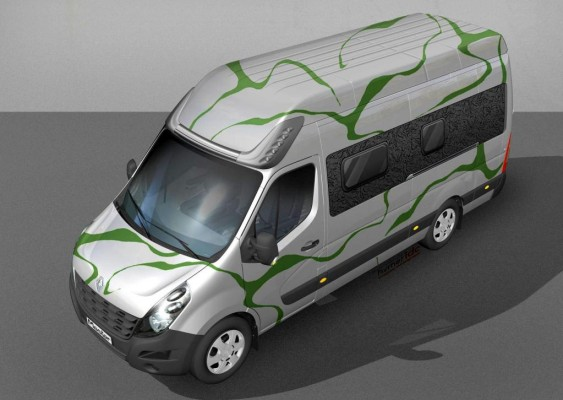 Caravan-Salon 2010: Renault zeigt Master ''Flowing Nature''