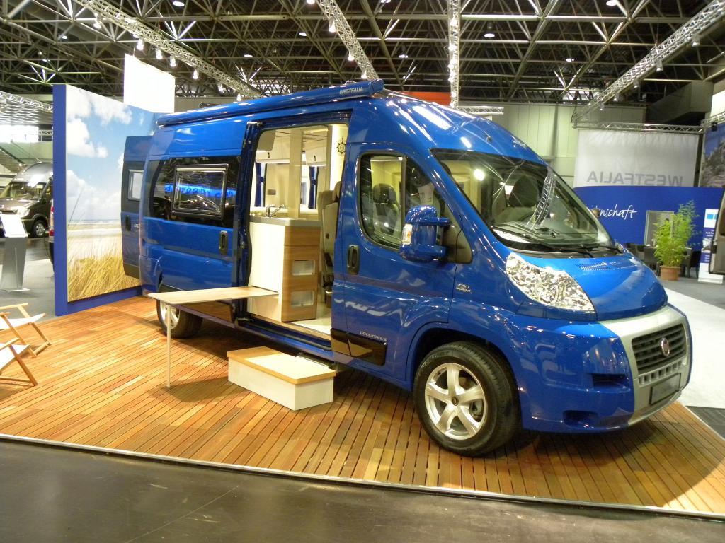 Caravan-Salon 2010: Westfalia hat wieder ein Columbus im Programm