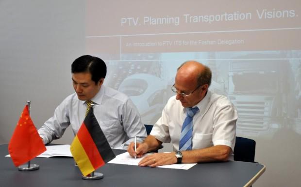 Chinas erster Verkehrsverbund nutzt deutsches Know-how
