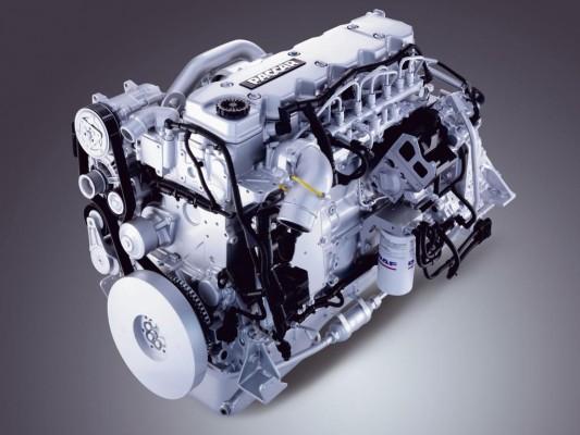 DAF bietet alle Motoren in EEV-Ausführung