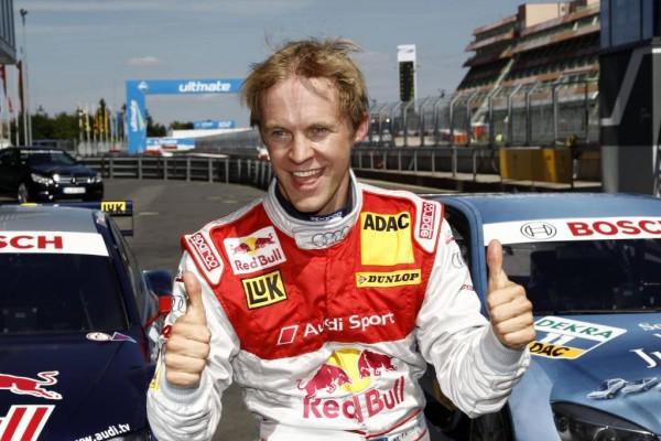 DTM 2010: Audi-Pilot Ekström startet auf dem Nürburgring von der Pole-Position