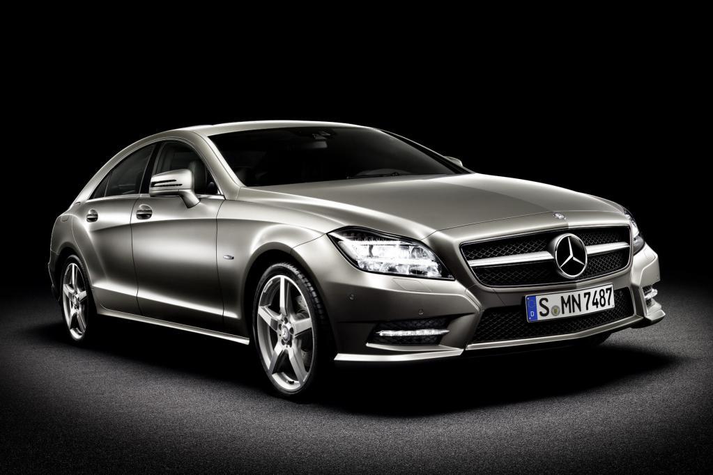 Den neuen Mercedes CLS wird es in einer Sonderserie mit mattem Lack geben.