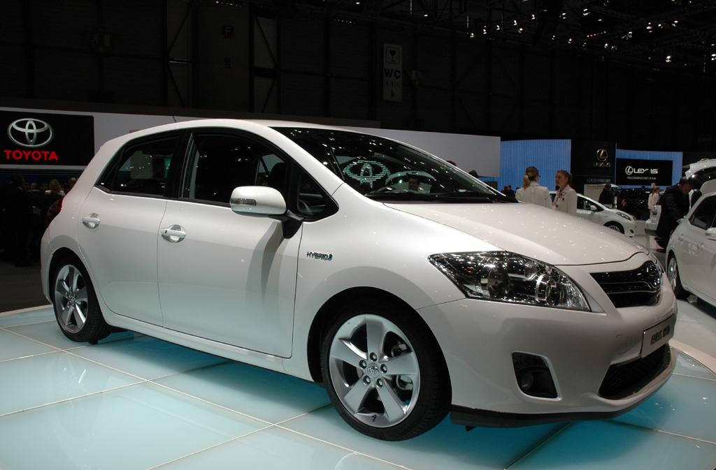 Der Auris ist das neue Hybridmodell von Toyota.