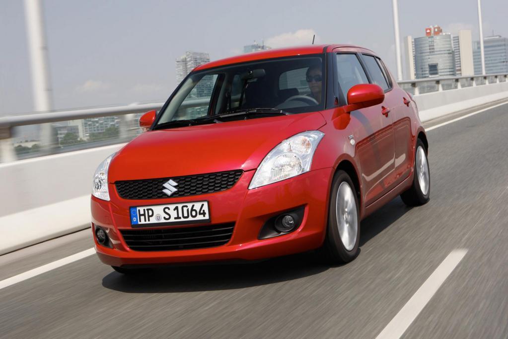 Der Kleinwagen Suzuki Swift kann mit einem sehr guten Insassenschutz punkten - und erhält ebenfalls die Top-Bewertung.