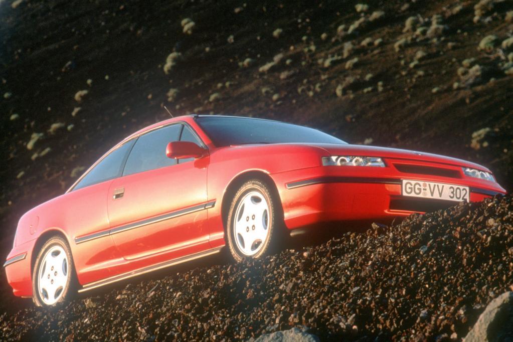 Der Opel Calibra war seinerzeit das windschlüpfrigste Auto der Welt.