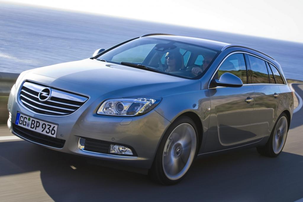Der Opel Insignia kann mit einem entsprechenden Hinweisgeber ausgestattet werden.