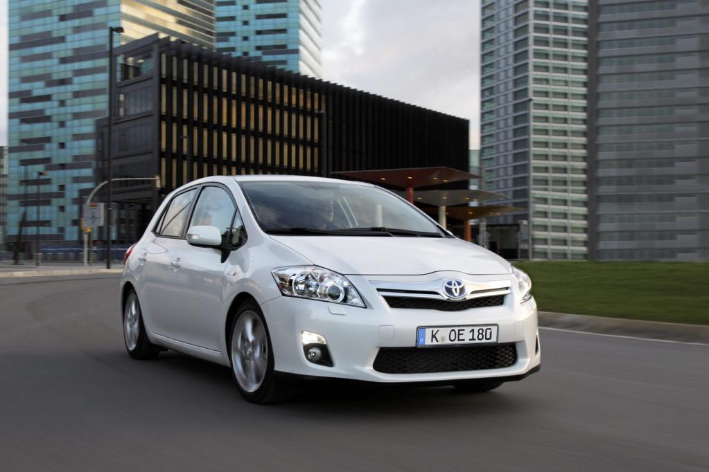 Der Toyota Auris belegt gemeinsamt mit dem Prius den ersten Platz in der VCD-Umweltliste. © Toyota