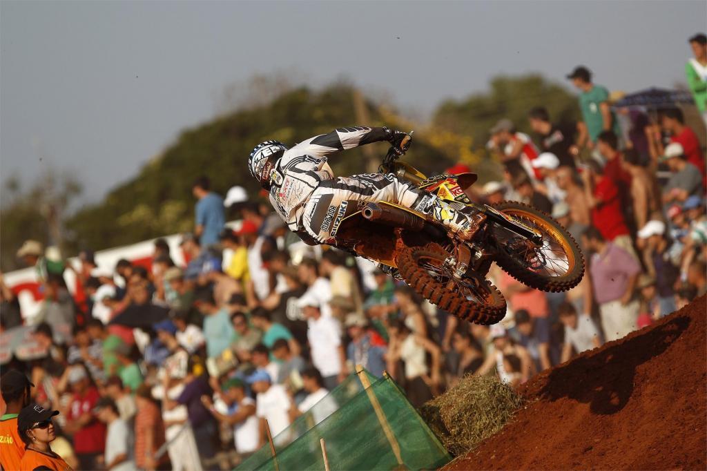 Desalle bei Motocross-Weltmeisterschaft in Brasilien knapp geschlagen