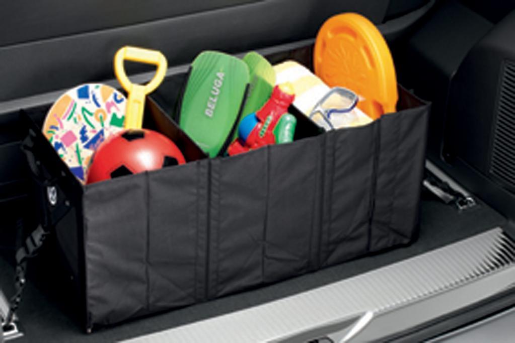 Die Falttasche aus dem VW-Zubehörprogramm kostet 69,90 Euro.
