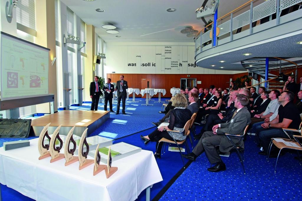 Die Preisverleihung des Internen Umweltpreises 2010