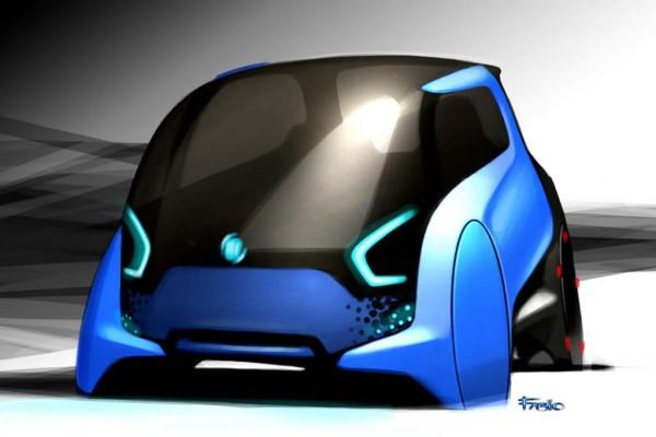 Elektro-Citycar von Fiat