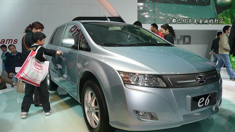 Elektroauto des chinesischen Autobauers BYD