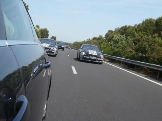 Erwischt: BMW M5 Erlkönig – In Geschwaderfahrt nach Spanien