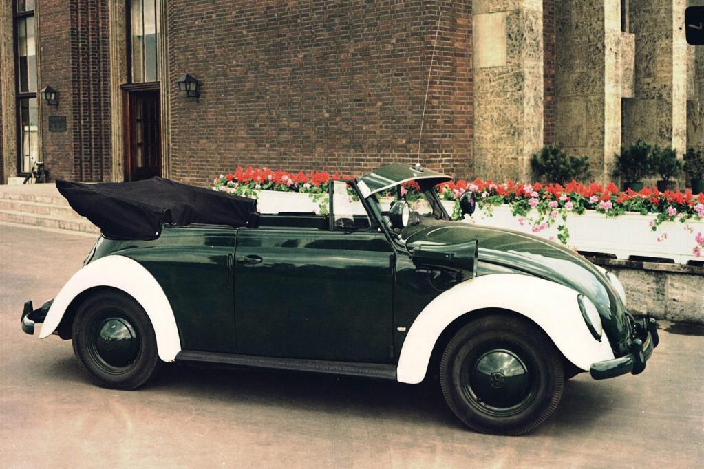 Extrem selten war das Polizei-Cabrio auf Käfer-Basis.