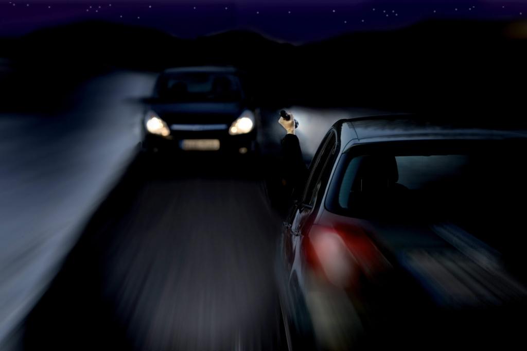 Für optimale Ausleuchtung der Fahrbahn sorgen intelligente Lichtassistenten.