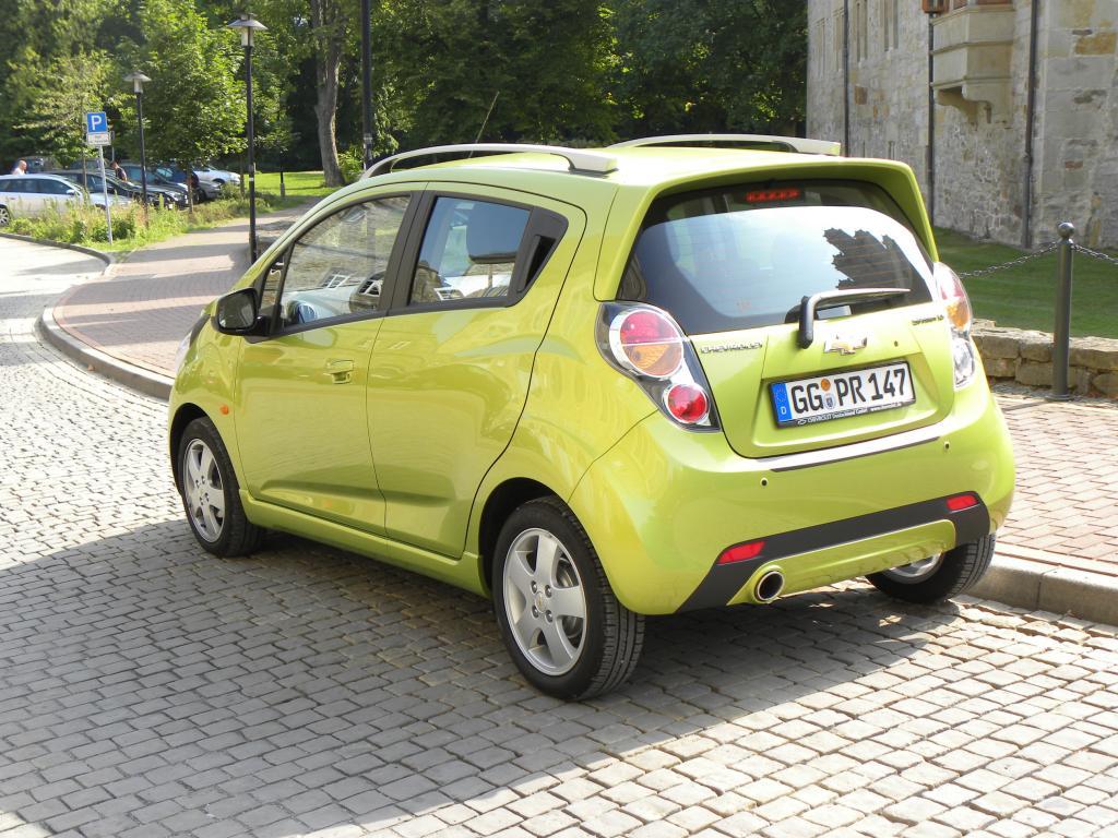 Fahrbericht Chevrolet Spark: Frecher Flitzer