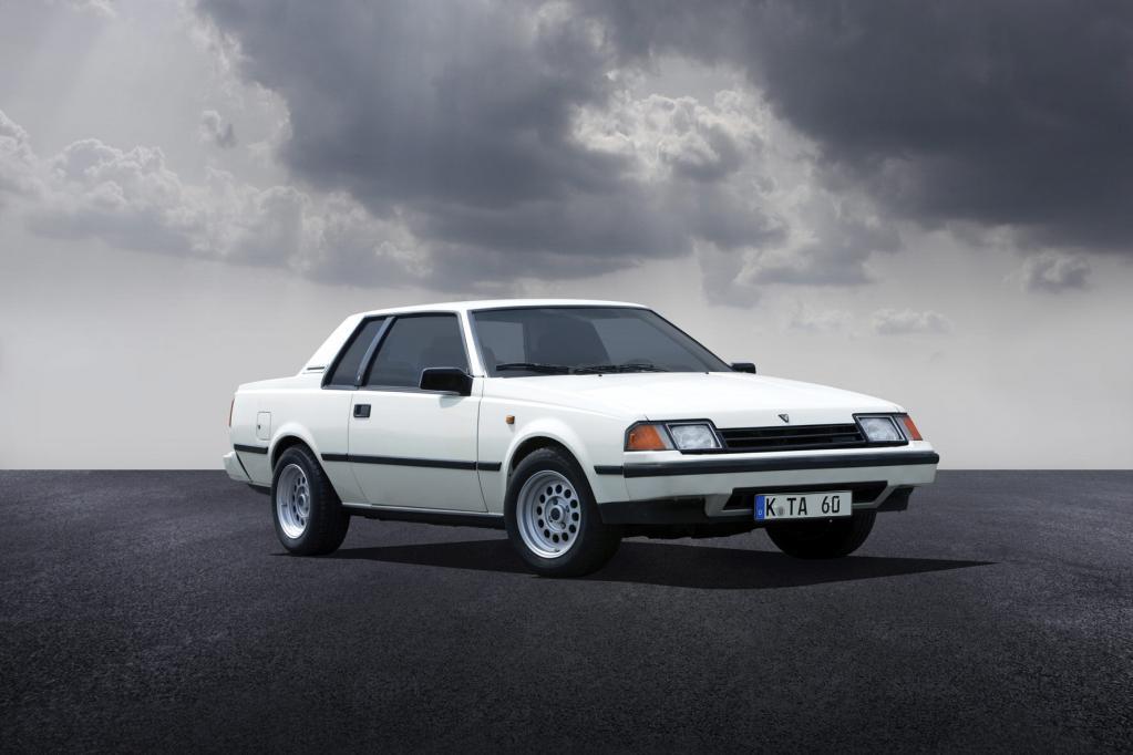 Fast schon nichtssagend sah die Celica Anfang der 80er-Jahre aus.