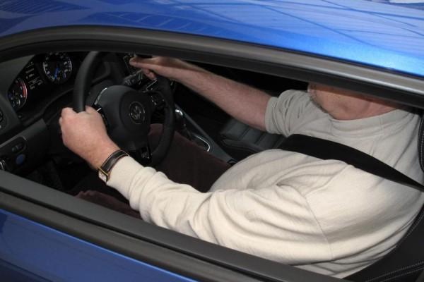 Fette Männer bei Auto-Unfälle gut geschützt