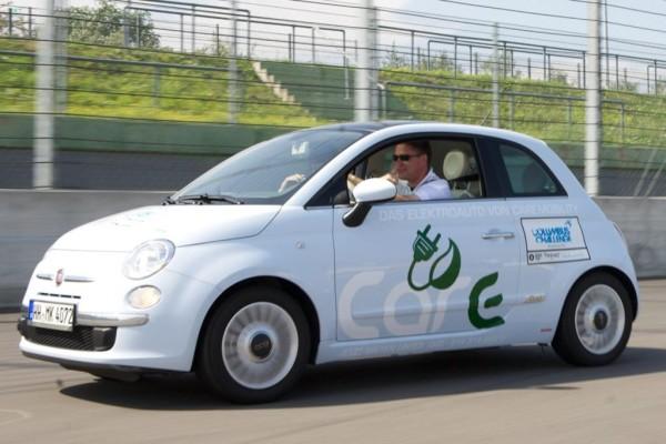 Fiat 500 als Elektroauto erhältlich