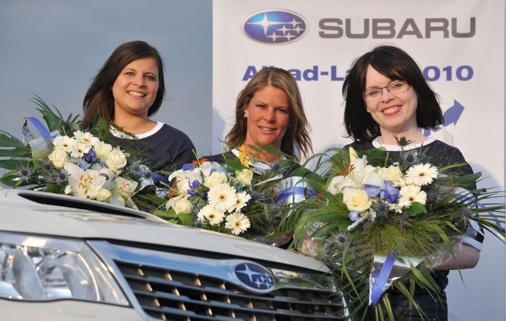 Finalistinnen (von links): Miriam Schuster, Silke Hering und Susanne Glöckner-Heerdt.