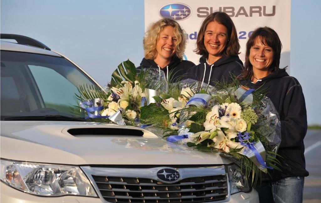 Finalistinnen (von links): Petra Vogelmann, Heidrun Kuhlmann und Susanne Winkel.