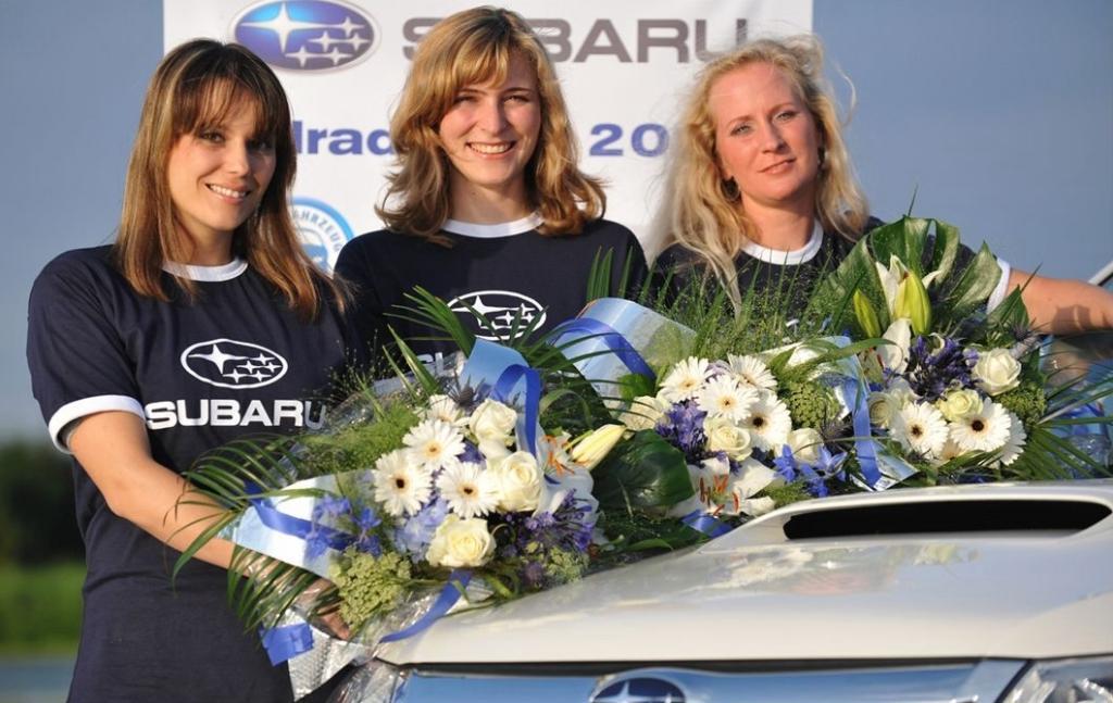 Finalistinnen (von links): Rebecca Noder, Patricia Paul und Irina Feldmann.