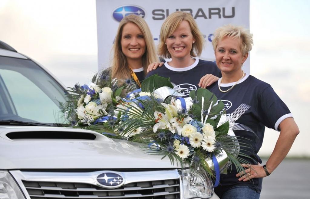 Finalistinnen (von links): Tnaja Seidl, Lena Schnock und Beate Villinger.