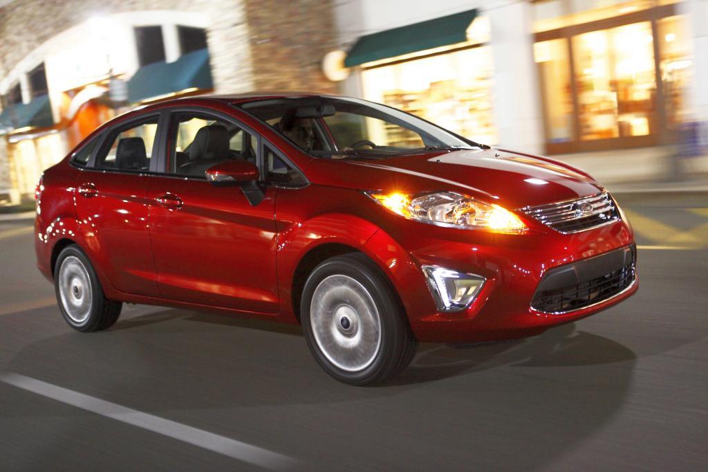 Ford Fiesta in den USA für Sicherheit ausgezeichnet