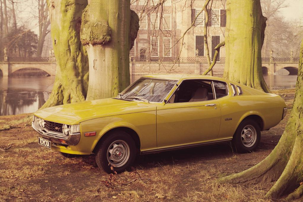 Ford Mustand, Chevrolet Camaro und Dodge Charger hießem die Styling-Vorbilder der ersten Celica.