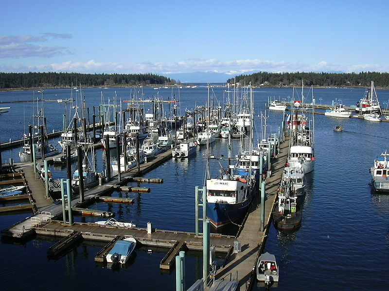 Hafen von Nanaimo