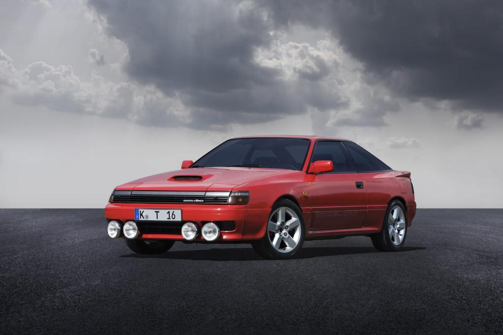In den 80er-Jahren war auch bei Toyota futuristisches Design angesagt.