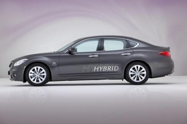 Infiniti M ergänzt Hybridangebot in der Oberklasse