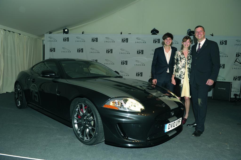 Jaguar feiert Markenjubiläum mit dem XKR 75