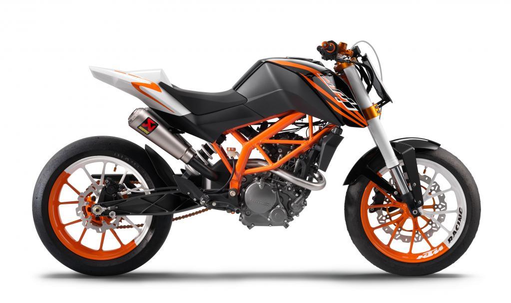 KTM 125 Concept.