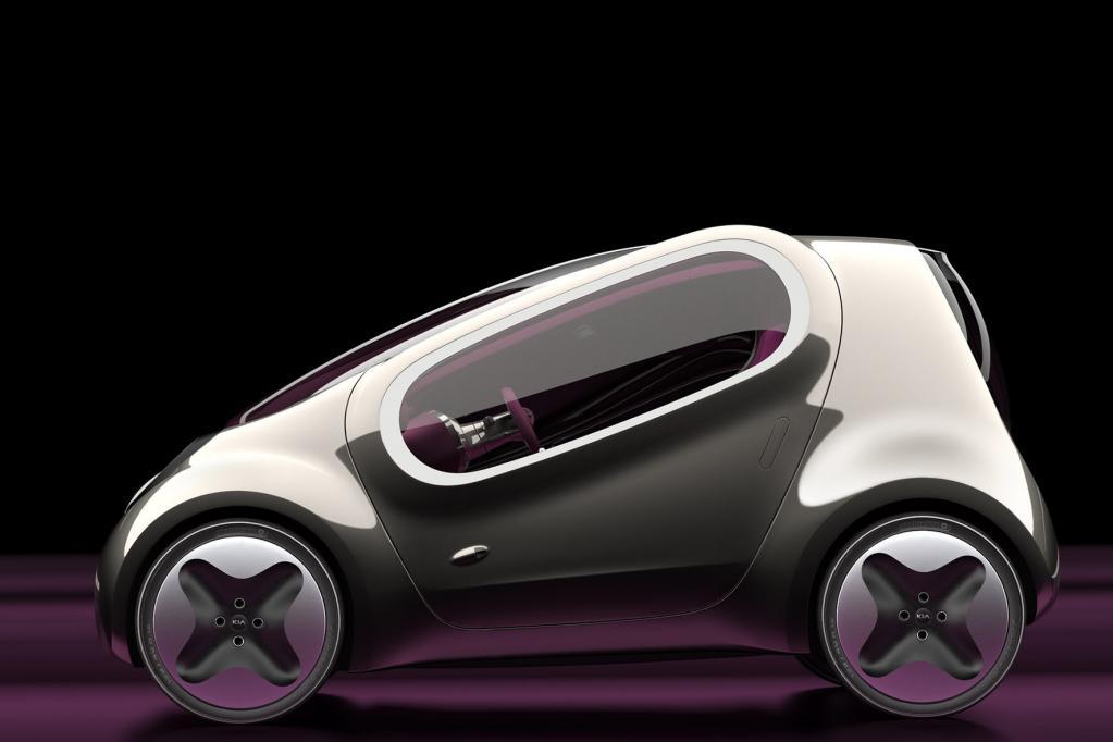 Kia mit Mini-Elektroauto