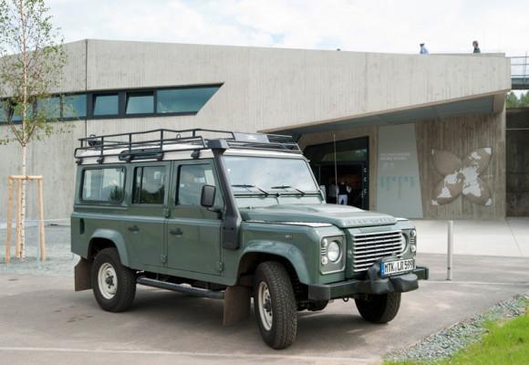 Land Rover unterstützt Unesco-Weltnaturerbe