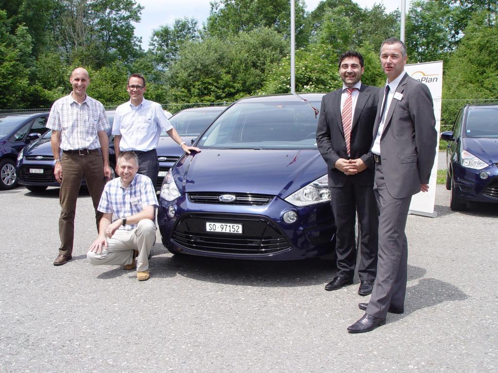 Lindt & Sprüngli bekommt Ford S-Max für Dienstwagenflotte