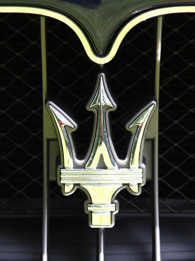 Maserati GranCabrio: Der Dreizack ist das Symbol der italienischen Nobelmarke.