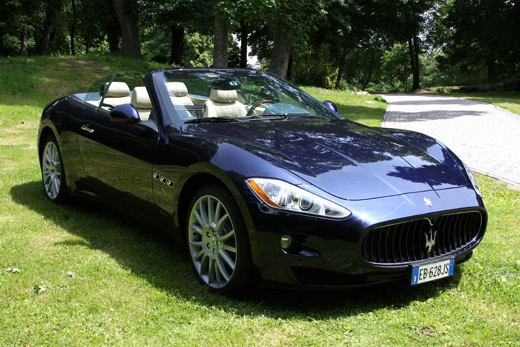 Maserati GranCabrio: Der offene Italiener ist für vier Personen ausgelegt.